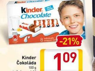 Kinde čokoláda 100 g