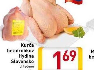 Obrázok Kurča bez drobkov Hydina Slovensko  1 kg