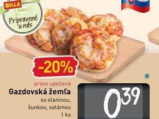 Gazdovská žemľa  1 ks