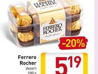 Obrázok Ferrero Rocher 200 g