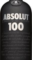 Obrázok Absolut 100 Vodka 50% 1,00 L