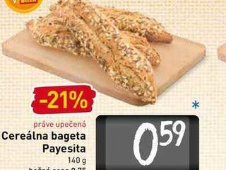 Cereálna bageta Payesita 140 g