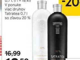Obrázok Tatratea Original 52 %, 0,7 l
