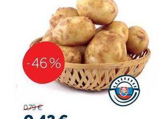 Zemiaky konzumné skoré 1 kg