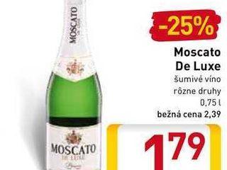 Moscato De Luxe 0,75 l