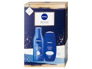 Nivea Feel Good sprchový gél 250ml + telové mlieko 250 ml